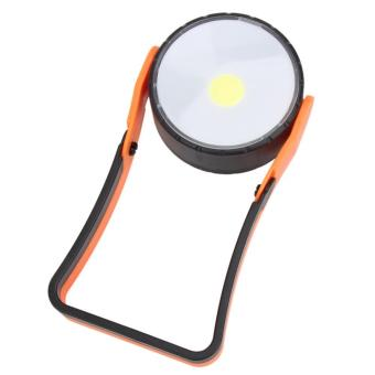 Stand COB LED Work Light Lamp Flashlight with Magnet Hanging Hook - intl - 5