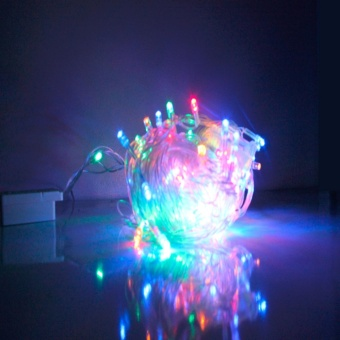 Star 100 LED String Christmas Lights (Assorted)