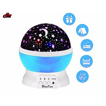 Star Projection Night Lamp (Blue) Price Philippines