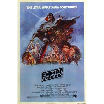 Star Wars The Empire Strikes Back version A 14x20 inches Movie Poster
