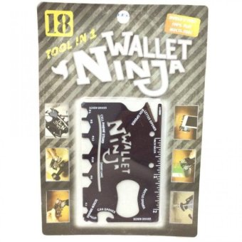 Stephen Wallet Ninja 18 in 1 Pocket Multi-Tool set of 2