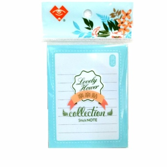 Sticky Notes, Memo Self-Stick Notes, Lined 4X3 Inches 60 Sheets/Pad