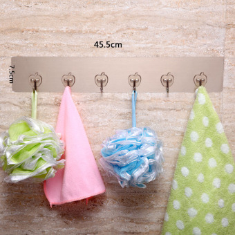 Strong clothes hanging bathroom kitchen wall hangers adhesive hook