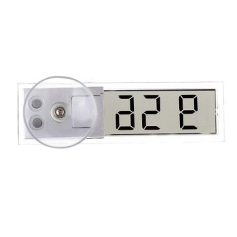 Sucker Mini Car Auto LCD Display Digital Electronic Clock