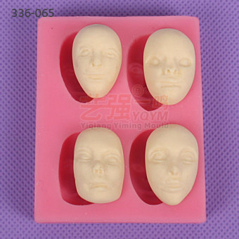 Sugar cake polymer clay mold