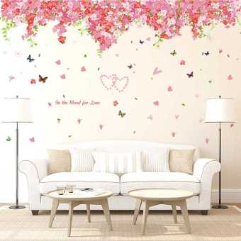 SUNFONG living room sofa background wall adhesive paper wall stickers