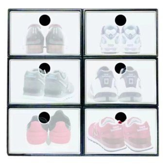 Sunnyware Shoe Mate Stackable Shoe Organizer x 6 (Large)
