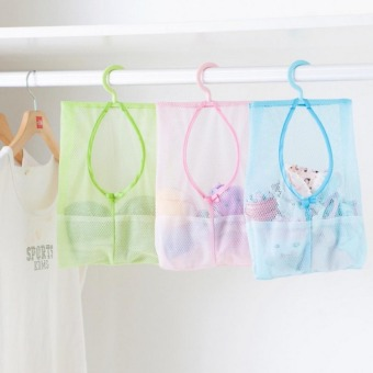 Sunshine Hanging Mesh Storage Laundry,Bathroom,Kitchen Organizerset of 2 - 3