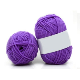 Sunshop CHIC 10 Colors Soft Cotton Bamboo Crochet Knitting Yarn Baby Knit Wool Yarn - intl