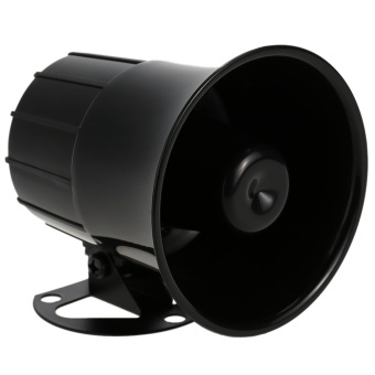 Super Power Alarm Siren Horn Outdoor with Bracket for Home House Alarm System Security - Intl - Intl