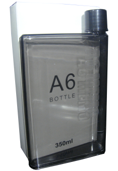 Super Slim A6 Memo Bottle 350 ml Black