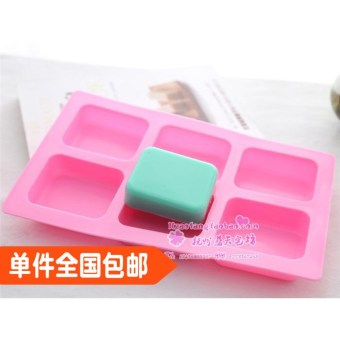 Super xj233 soap six hole box easy to use easily removable Mold