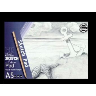 Superior Reworkable Sketch Pad size A5 (210mmx145mm)