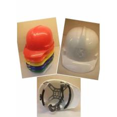 T009 Construction Protective Helmet for Workers (White) Philippines