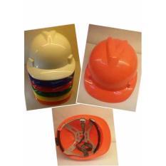 T016 Construction Protective Helmet for Workers (Orange) Philippines