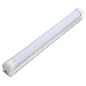 T8 30CM 10W 2835 24 LED Cool White Fluorescent Tube Light Lamp Bar w/ Cover