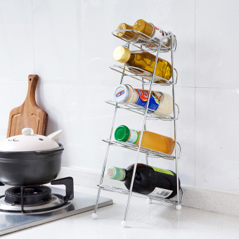 Table seasoning products wine rack shelf