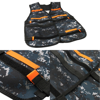 Tactical Vest for NERF N-Strike Elite Series Ammo Holder Vest Outdoor Games - intl