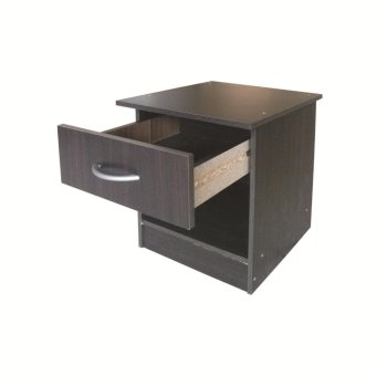 Tailee #2301 Side Table with Drawer (Wenge) - 2