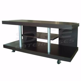 Tailee Furniture #00542 3-Layer TV Rack / TV Stand w/ Caster Wheels (Wenge)