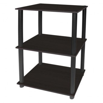 Tailee furniture #1950BT 3-Layer Open Type Display Rack / Storage (Wenge)