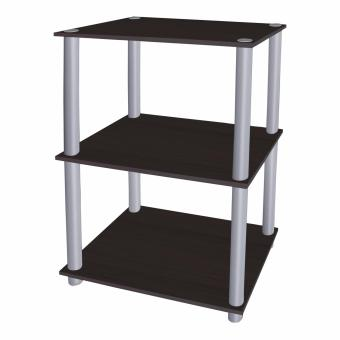 Tailee Furniture #1950ST 3-Layer Open Type Display Rack / Storage (Wenge)