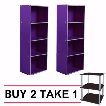 Tailee Furniture ST-400BF 4-Layer Utility Cabinet Organizer BUY 2FREE 1 #1950ST 3-Layer Open Type Display Rack / Storage