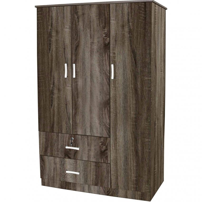 Tailee Furniture WD-320 Multi-functional Wardrobe / Cabinet with 3 ...
