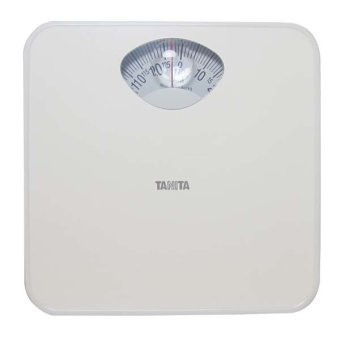 Tanita Mechanical Scale with Magnifying Window Display (White)