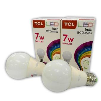 TCL 7W Daylight EcoSeries Bulb Set of 3 with FREE 2 Bulb - 4