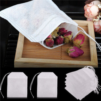 Tea Bags String Heal Seal Filter Paper Teabag 6 x 8CM for HerbLoose Tea - intl Price Philippines