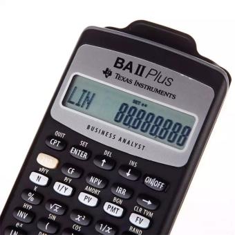 Texas Instruments BA II plus Financial calculator for CFA - 3
