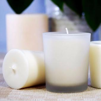 The Candleroom Almond Blossom Scented Votive Candle (60g)