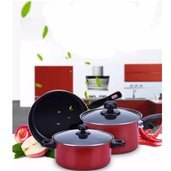 The House Non Stick Induction Safe Pot and Pans Cook Set Price Philippines
