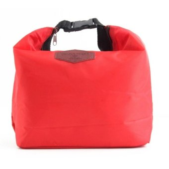 Thermal Insulated Waterproof Lunch Bag (Red) Price Philippines