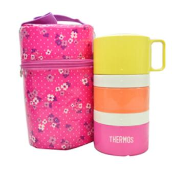 Thermos DJG-550 550ml Lunch set (Pink) Price Philippines