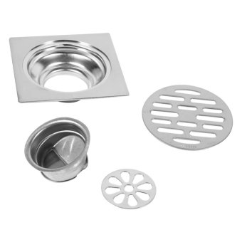 Thick Stainless Steel Square Anti-odor Floor Drain #2 - intl