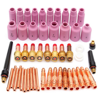 TIG KIT & TIG Welding Torch Consumables Accessories FIT WP 17 18 26 Series 51pcs - Intl Price Philippines