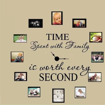 Time Spent with Family Wall Art Sticker Quote Living Room DecorMural Decal - intl