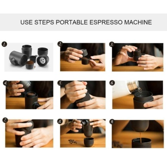 TMISHION Mini Manual Hand Operated Portable Espresso Coffee MakerMachine for Home Office Travel - intl - 2