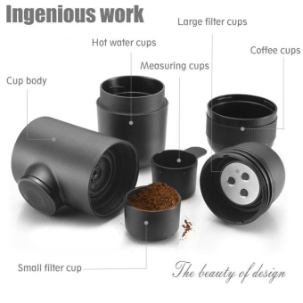 TMISHION Mini Manual Hand Operated Portable Espresso Coffee MakerMachine for Home Office Travel - intl - 4