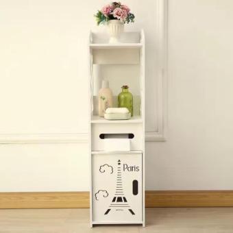 Toilet Side Cabinet, Side Cabinet, Storage Rack, Bathroom FloorLocker, Toilet Storage Cabinet - 2