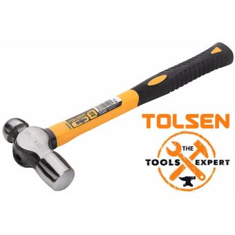 Tolsen Ball Pein Hammer Fiberglass Handle (16oz)