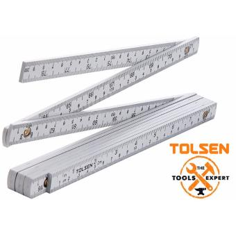 Tolsen Folding Ruler (2M) ABS Body w/ Spring