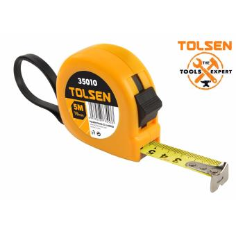 Tolsen Measuring Tape 5Mx19mm (Metric Blade)