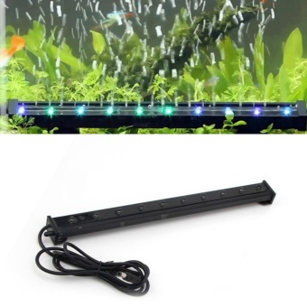 TOMSOO 1pc Color Changing LED Air Bubble Light UnderwaterSubmersible Aquarium Fish Tank (XL-P25) - intl