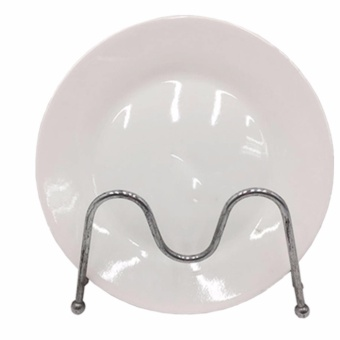 TOP STANDARD WHITE PLATE (6 PIECES 5633-8 ) - 2