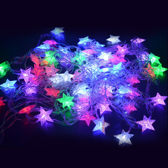 Toprank Snowflake Christmas Led String Fairy Light (White) - picture 2
