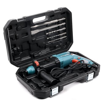 Total Rotary Hammer Drill 800W Heavy Duty (Blue Green)