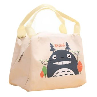 Totoro Lunch Box Storage Bag (Beige)